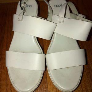 ASOS Chunky Platform Heeled Sandals